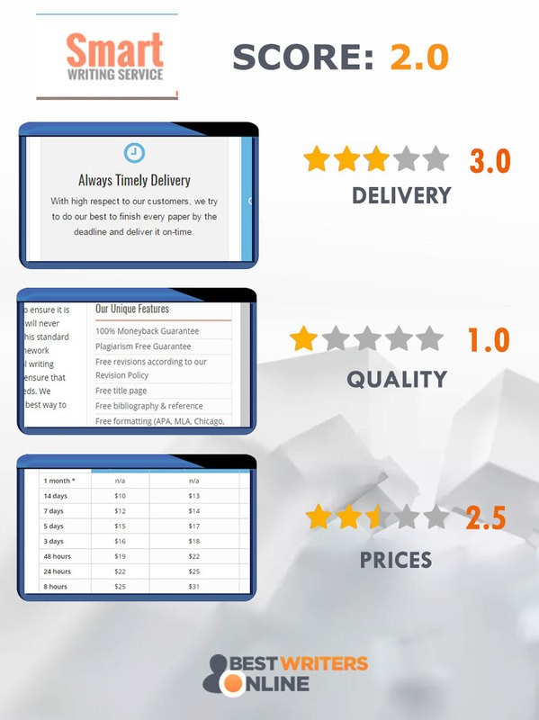 SmartWritingService review